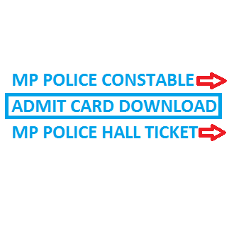 mp police constable admit card