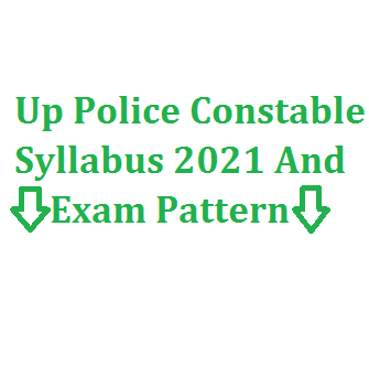 up police constable syllabus
