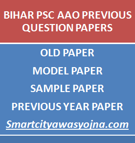 BPSC AAO PREVIOUS PAPER