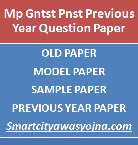 Mp Gntst Pnst Previous Year Question Paper