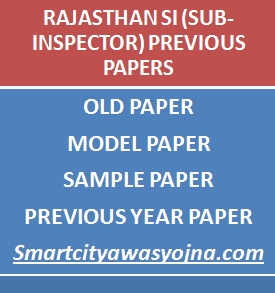 rajasthan si previous papers