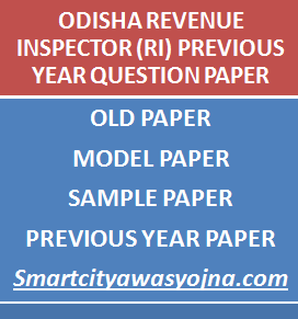 odisha ri previous papers