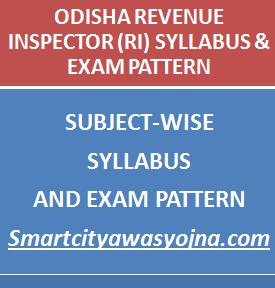 odisha revenue inspector syllabus