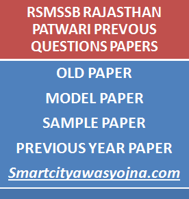 rajasthan patwari previous questions papers