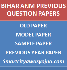 bihar anm previous question papers