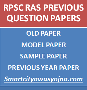 rpsc ras previous question papers