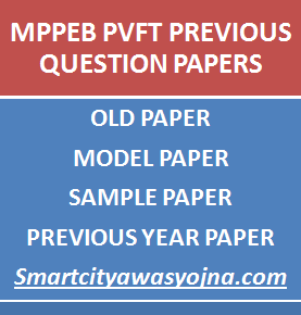 mp pvft previous question papers