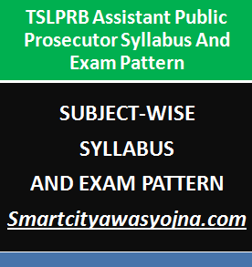 Tslprb Assistant Public Prosecutors