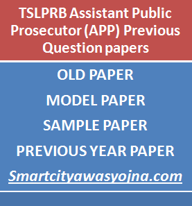 TSLPRB APP Previous Question Papers