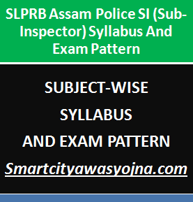 assam police si syllabus