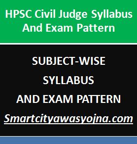 hpsc civil judge syllabus