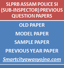 assam police si previous question papers