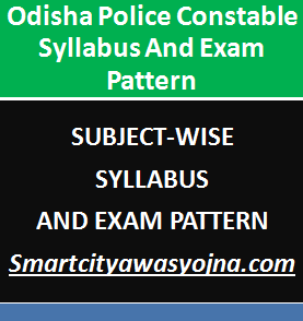 odisha police constable syllabus