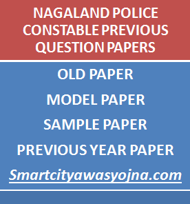 nagaland police constable papers