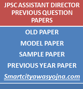jpsc assistant director previous papers